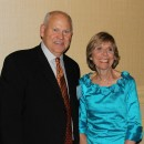 Past Inductee Coach Phil Fulmer and Courage Award Recipient Peggy Michaels