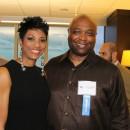 Past Inductee Rochelle Stevens and 2013 Inductee Leonard Hamilton