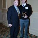 Executive Director Dr. Bill Emendorfer and Champion Within Award Recipient Brian Baker
