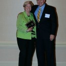 Champion Within Award Recipient Joan Cronan and Executive Director Dr. Bill Emendorfer