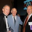 2013 Inductee Coach Rick Byrd and Past Inductees Bill Byrd and Coach Phil Fulmer