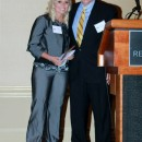 Executive Director Dr. Bill Emendorfer and Champion Within Award Recipient Tiffany Baines