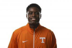 KNOXVILLE,TN - AUGUST 17, 2015 - Christian Coleman Sprints / Jumper - 2015 Tennessee Track & Field headshot. Photo By Craig Bisacre/Tennessee Athletics